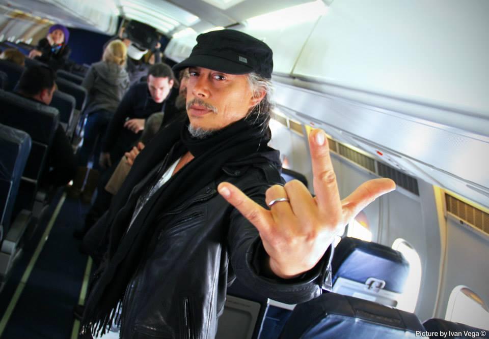 El guitarrista Kirk Hammet.